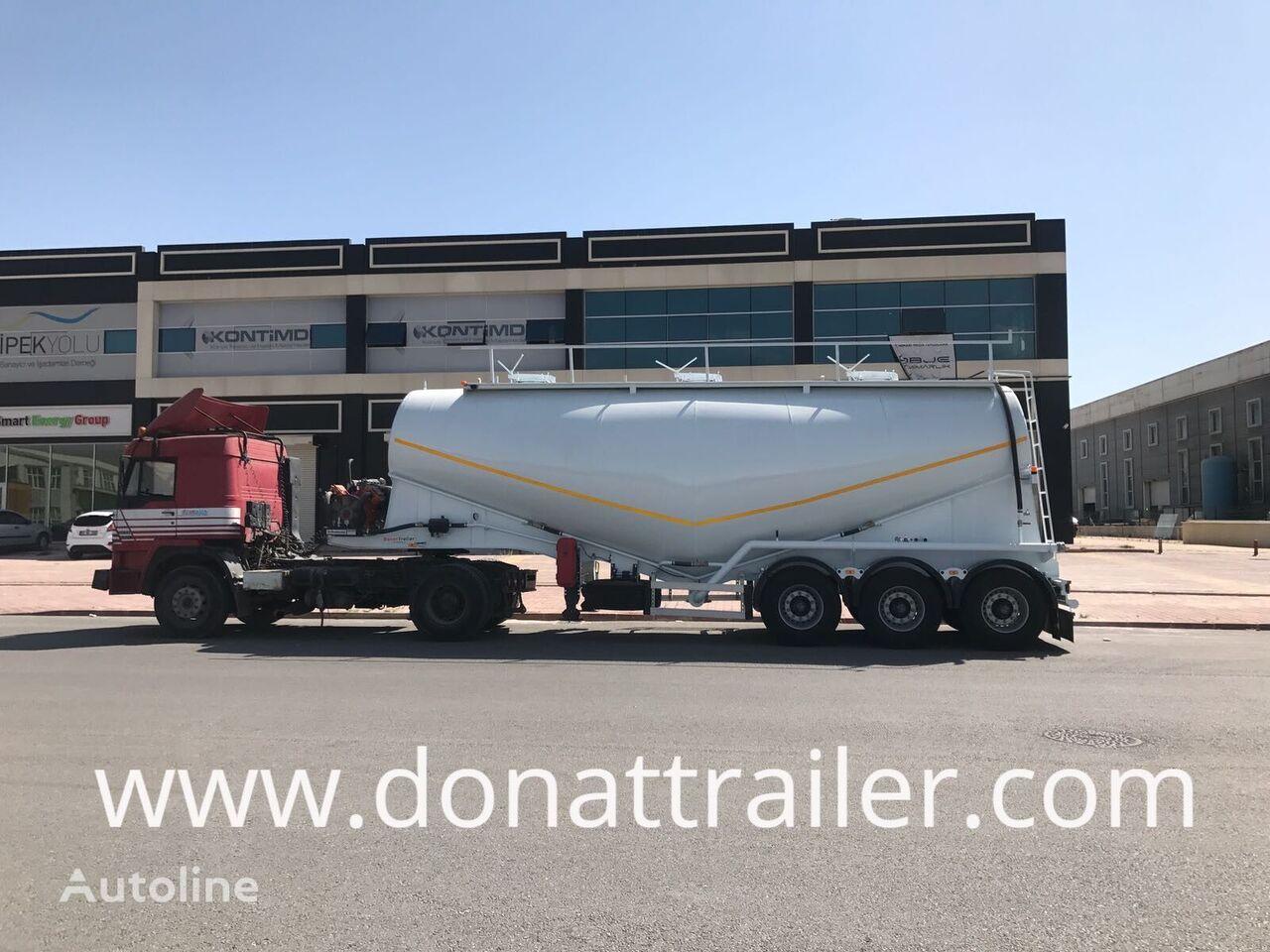 new DONAT V-Type Dry Bulk cement tank trailer