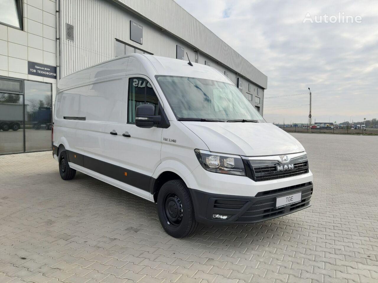new MAN TGE 3.140 closed box van