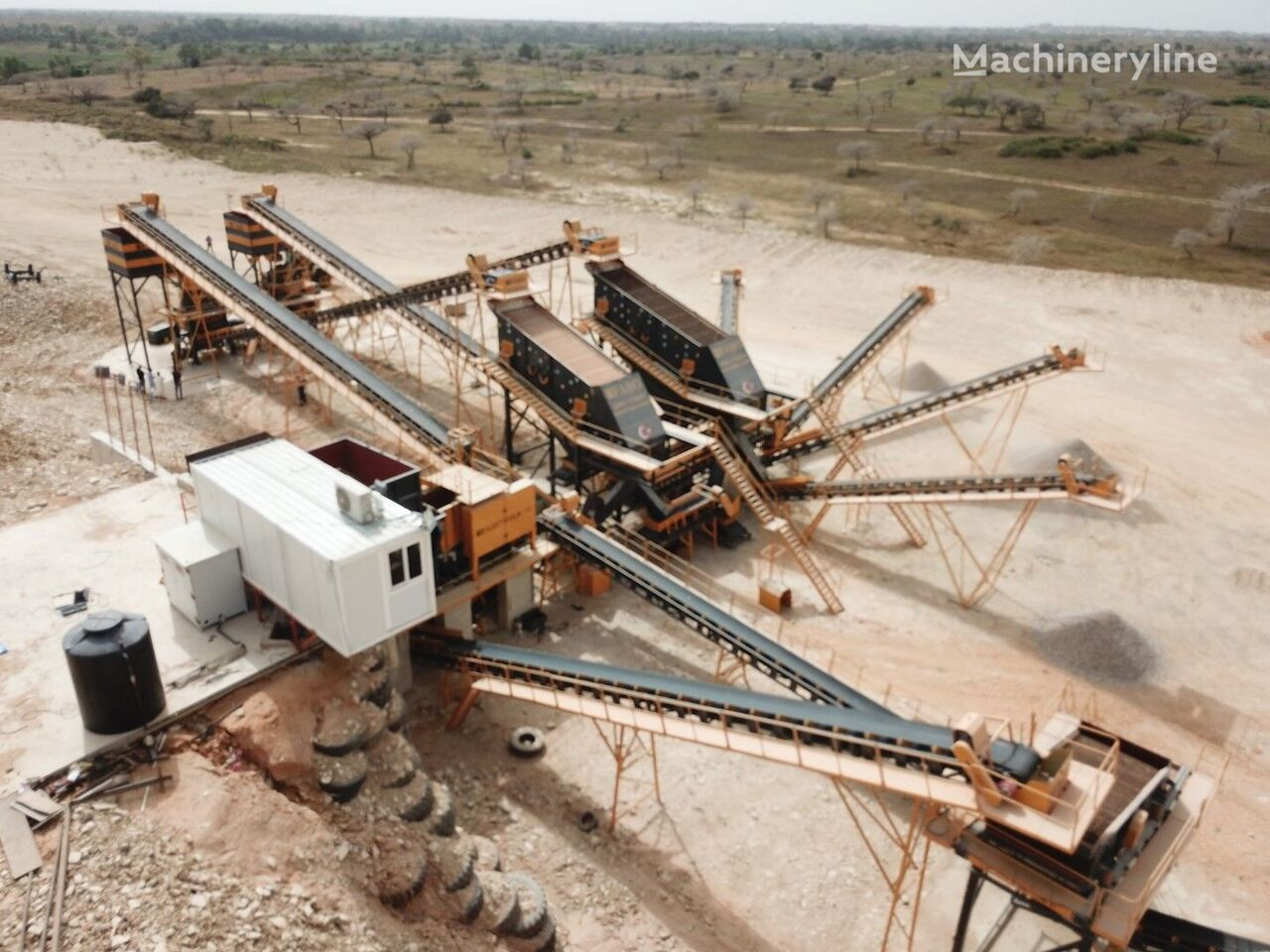 new FABO STATIONARY TYPE 200-350 T/H HARDSTONE CRUSHING & SCREENING PLANT crushing plant