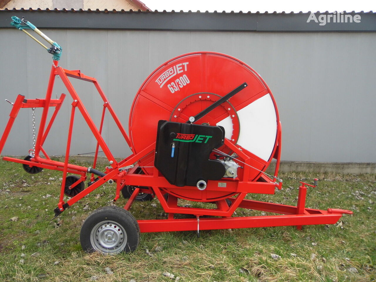 TurboJet 63/300 irrigation machine