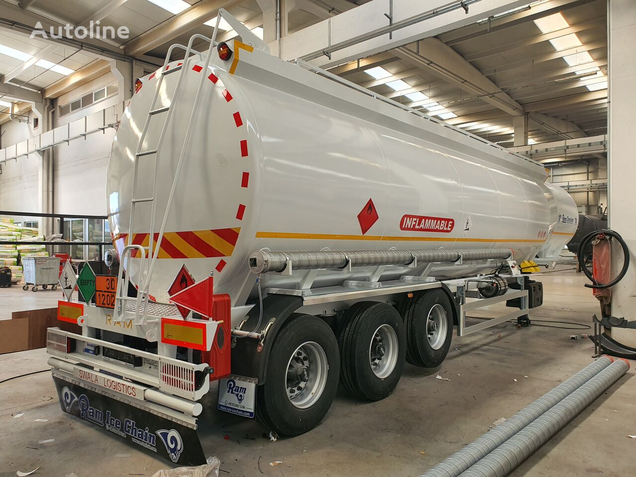 new Ram Treyler 50.000 LT FUEL TANKER fuel tank trailer