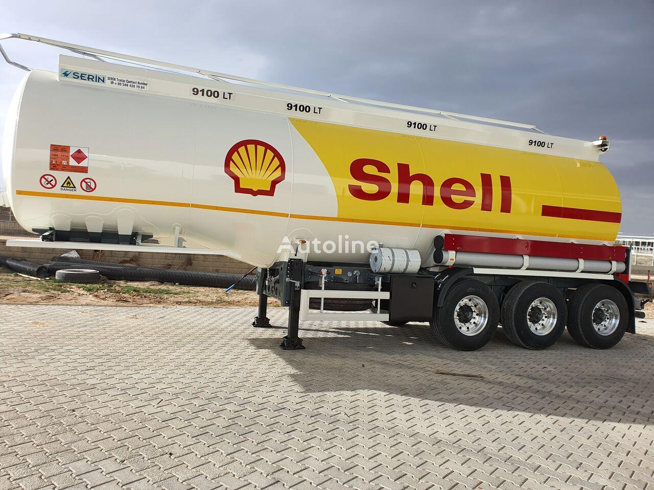 new SERIN Aluminium Fuel Tank Semi Trailer fuel tank trailer