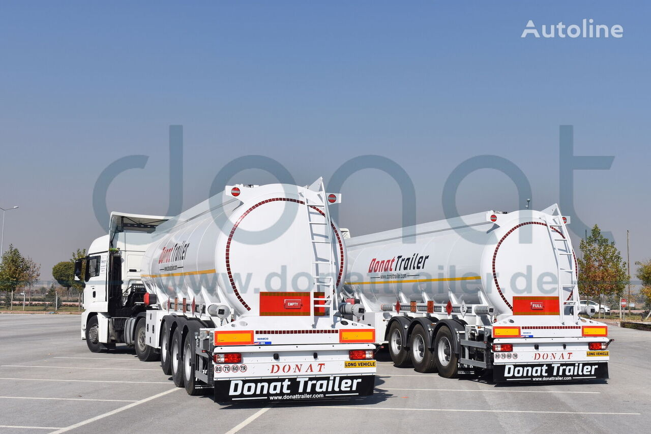 new DONAT Bottom Loading with recuperation system - 7 compartments fuel tank trailer