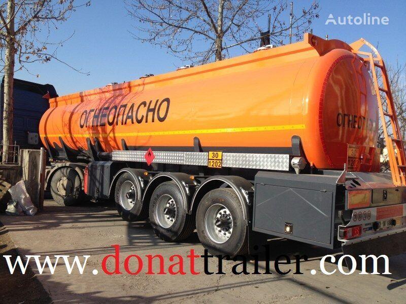 new DONAT Fuel Tanker - ADR - Benzovoz - OTTS  fuel tank trailer