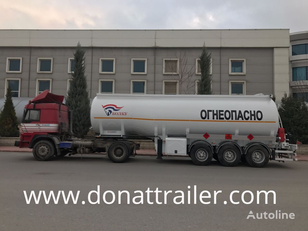 new DONAT OTTS and EC Certified fuel tank trailer