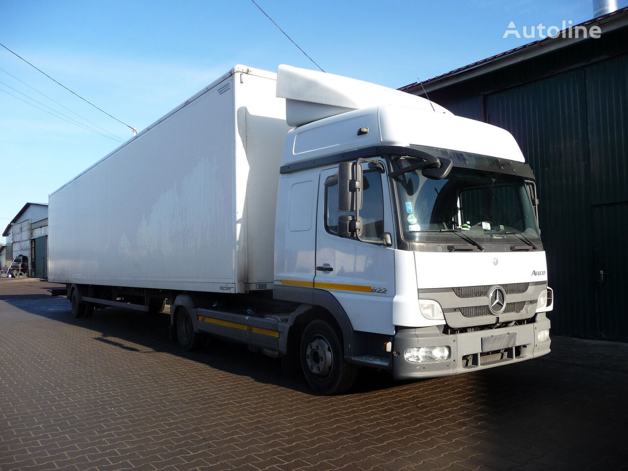 MERCEDES-BENZ Atego 822L tractor unit