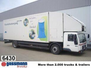 MAN L89 18.224 mit Schubboden und Förderband box truck