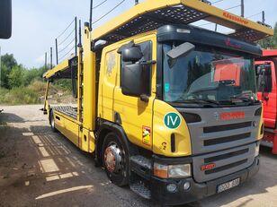 SCANIA P420 car transporter