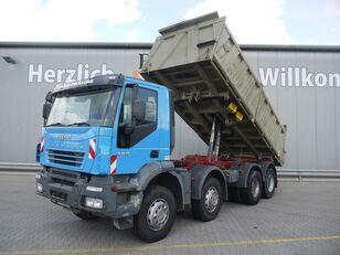 IVECO Trakker 380, 8x4, AP Achsen, Klima dump truck