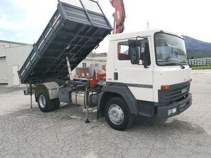 NISSAN Rib.Trilaterale portata 45 qli + GRU dump truck