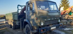KAMAZ 5320+KRANAS flatbed truck