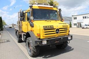 MERCEDES-BENZ Unimog U 4000 437/25 EURO 5 Motor NEU flatbed truck