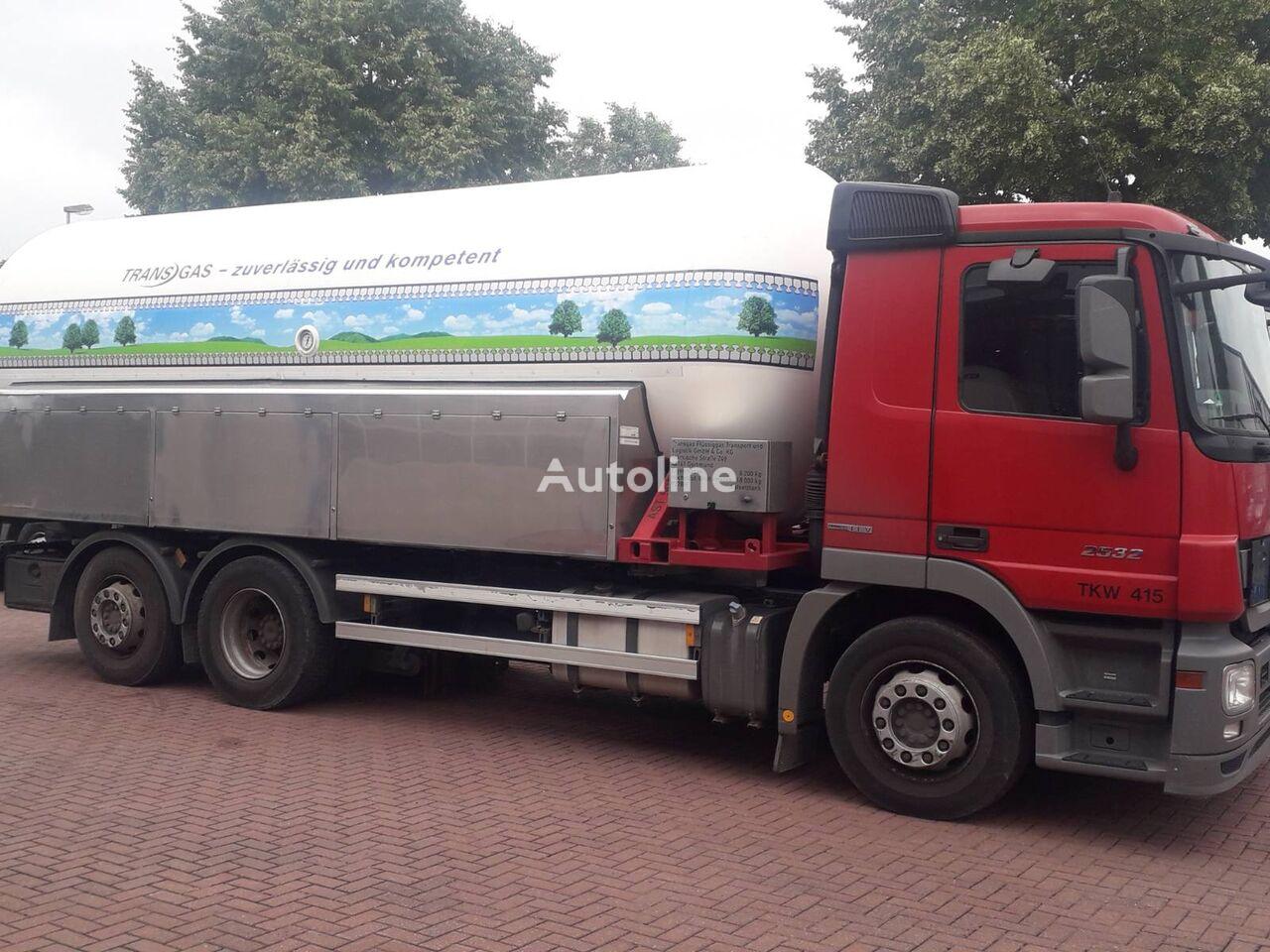 MERCEDES-BENZ ACTROS 2532 gas truck