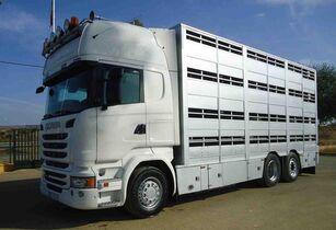 SCANIA R 490 livestock truck