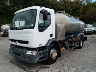 RENAULT Premium 370 370 DCI CITERNE EN INOX ETA (7000L+4000L) isotherme milk tanker
