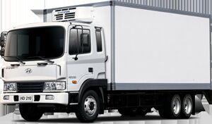 new HYUNDAI HD 210 refrigerated truck