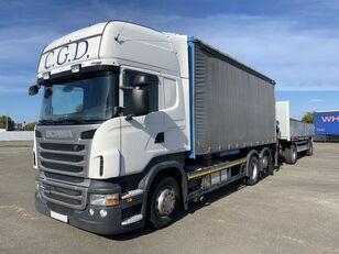 SCANIA R440 EU5 6x2 PALFINGER BDF RETARDER tilt truck