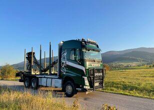 VOLVO fh 540 euro 6 do drewna lasu kłody epsilon Loglift doll huttner timber truck